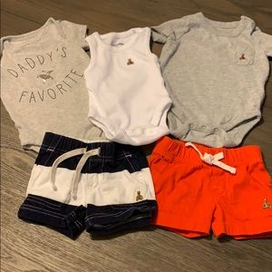 GAP Baby Boy bundle size 0-3 months